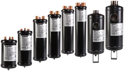 600 Series: Hermetic Impingement Conventional Oil Separators