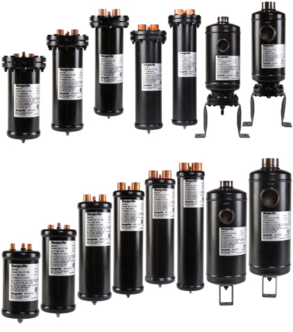 Temprite family of conventional oil separators