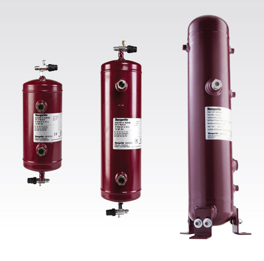 Oil Reservoirs for Refrigeration Oil Separators